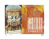 Namaste II Giclee Print by Mj Lew