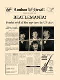 Beatlemania! Kunstdruck von  The Vintage Collection