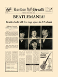Beatlemania! Poster by  The Vintage Collection
