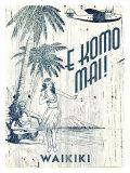 Waikiki, E Komo Mai Giclee Print