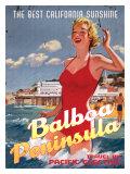 Balboa Peninsula, The Best California Sunshine Giclee Print