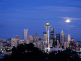 Seattle from Kerry Park, Seattle, Washington, USA Photographic Print by Jamie & Judy Wild