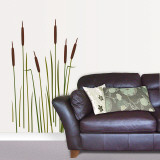 Bullrushes Wall Decal