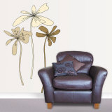 Oxygen Flower Trio Wall Decal