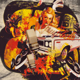 Cassie's Car Posters by Paco Raphael Krijnen