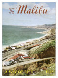 The Malibu: A Way of Life Giclee Print