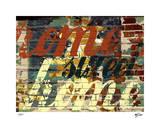 Home Sweet Home III Giclee-trykk av M.J. Lew