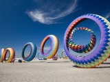 Circoflex Kites, International Kite Festival, Long Beach, Washington, USA Photographic Print by Jamie & Judy Wild