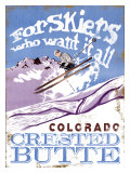For Skiers Who Want it All: Colorado Giclee Print