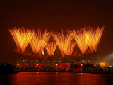 Beijing Olympics Closing Ceremony, Bird's Nest, Beijing, China Photographic Print