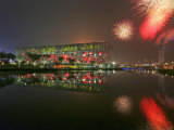 Beijing Olympics Opening Ceremony, Bird's Nest, Beijing, China Photographic Print