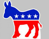 Democratic Donkey Cardboard Cutouts