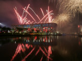 2008 Beijing Olympics Opening Ceremony, Bird's Nest, Beijing, China Photographic Print