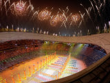 Beijing Olympics Opening Ceremony, Bird&#39;s Nest, Beijing, China Photographic Print