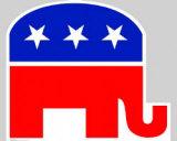 Republican Elephant Cardboard Cutouts