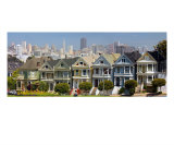San Francisco-Painted Ladies Photographic Print by Anna Miller