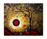 Frosted Gold Giclee Print by Megan Aroon Duncanson