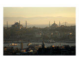 The Blue Mosque And Hagia Sophia Istanbul Turkey Photographic Print by Rebecca Erol