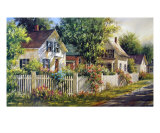 Summer Cottages Photographic Print by Gary Shepard
