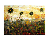 Naive Daisies Giclee Print by Megan Aroon Duncanson