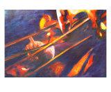 Trombone Section Giclee Print by Nita Burge