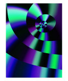 Color Cycle Photographic Print by Vicky Brago-Mitchell