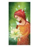 Angel And Bloom Photographic Print by Judita Zidziuniene