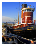 Tug In San Francisco Bay Photographic Print by Kim Straus