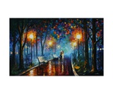 Misty Mood Of Afremov Giclee Print by Leonid Afremov