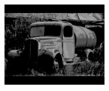 Old Gas Truck Photographic Print by Alan Watson
