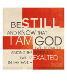 Psalm 46:10 III Photographic Print by Dallas Drotz