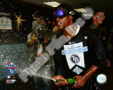 B.J. Upton Game 7 of the 2008 ALCS Celebration Photo