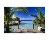 Lagoon View Aruba Photographic Print by George Oze