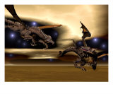 Night Dragons Photographic Print by Walter Colvin