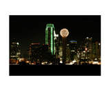 Dallas Skyline Photographic Print by John Gusky