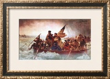 Washington Crossing the Delaware, c.1851 Poster by Emanuel Gottlieb Leutze