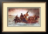 Washington Crossing the Delaware, c.1851 Prints by Emanuel Leutze