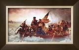 Washington Crossing the Delaware, c.1851 Art by Emanuel Gottlieb Leutze