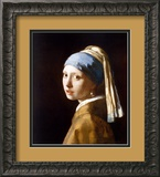 Girl with a Pearl Earring (2003) Art by Jan Vermeer