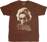 The Big Lebowski - The Dude Minds (Slim Fit) T-Shirts