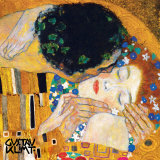 El beso, ca.1907 (detalle) Pster por Gustav Klimt