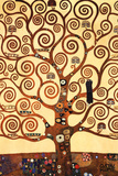 The Tree of Life, Stoclet Frieze, ca. 1909 Plakater af Gustav Klimt