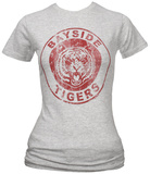 Juniors: Saved by the Bell - Bayside Tigers Athletic Logo T-Shirts