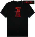 Dr. Who - Dalek Red Line Shirt