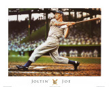 Joe DiMaggio Poster by Darryl Vlasak