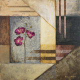 Michael Marcon - Orchids and Shapes II Obrazy