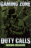 Gaming Zone - Duty Calls Affiches