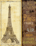 Bon Voyage II Plakaty autor Daphne Brissonnet