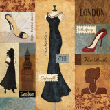 Couture London Art by  Veronique