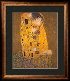 O Beijo, cerca de 1907 Posters por Gustav Klimt